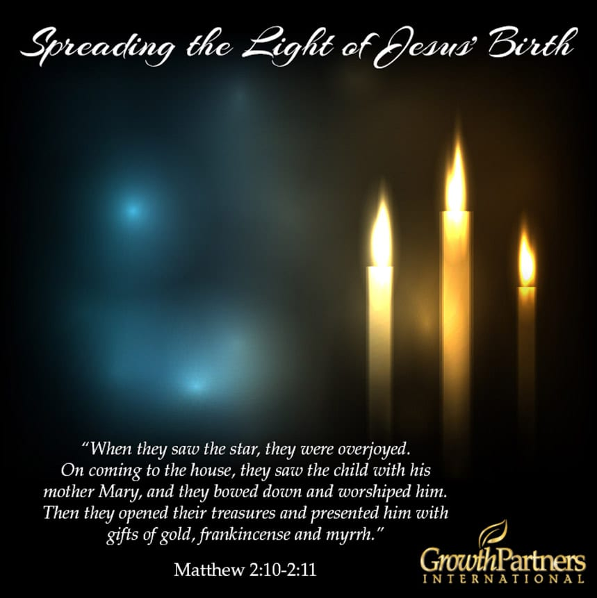 The feast of Epiphany is upon us! Inspire other to spread the Light of Jesus' birth!