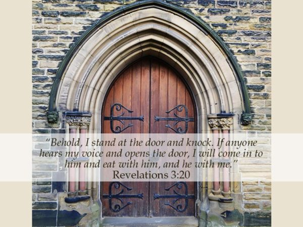 Revelations 3:20
