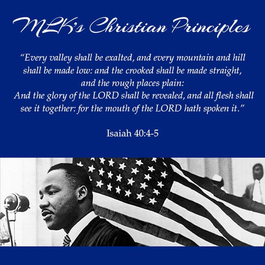 Martin Luther King, Jr.'s inspiration for Christian living!