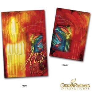 Front and back cover of the candle folder