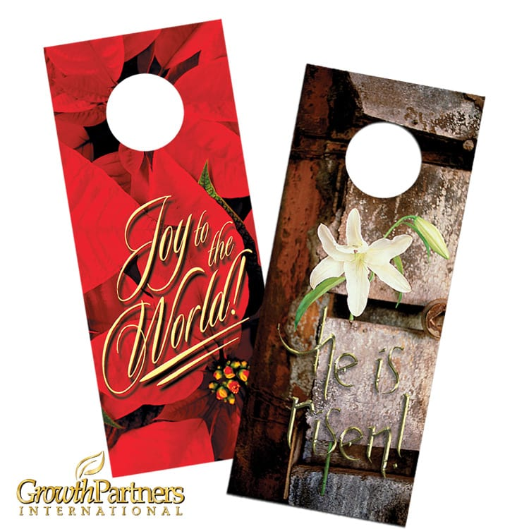 holiday door hangers