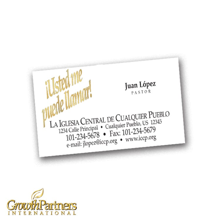 spanish calling card