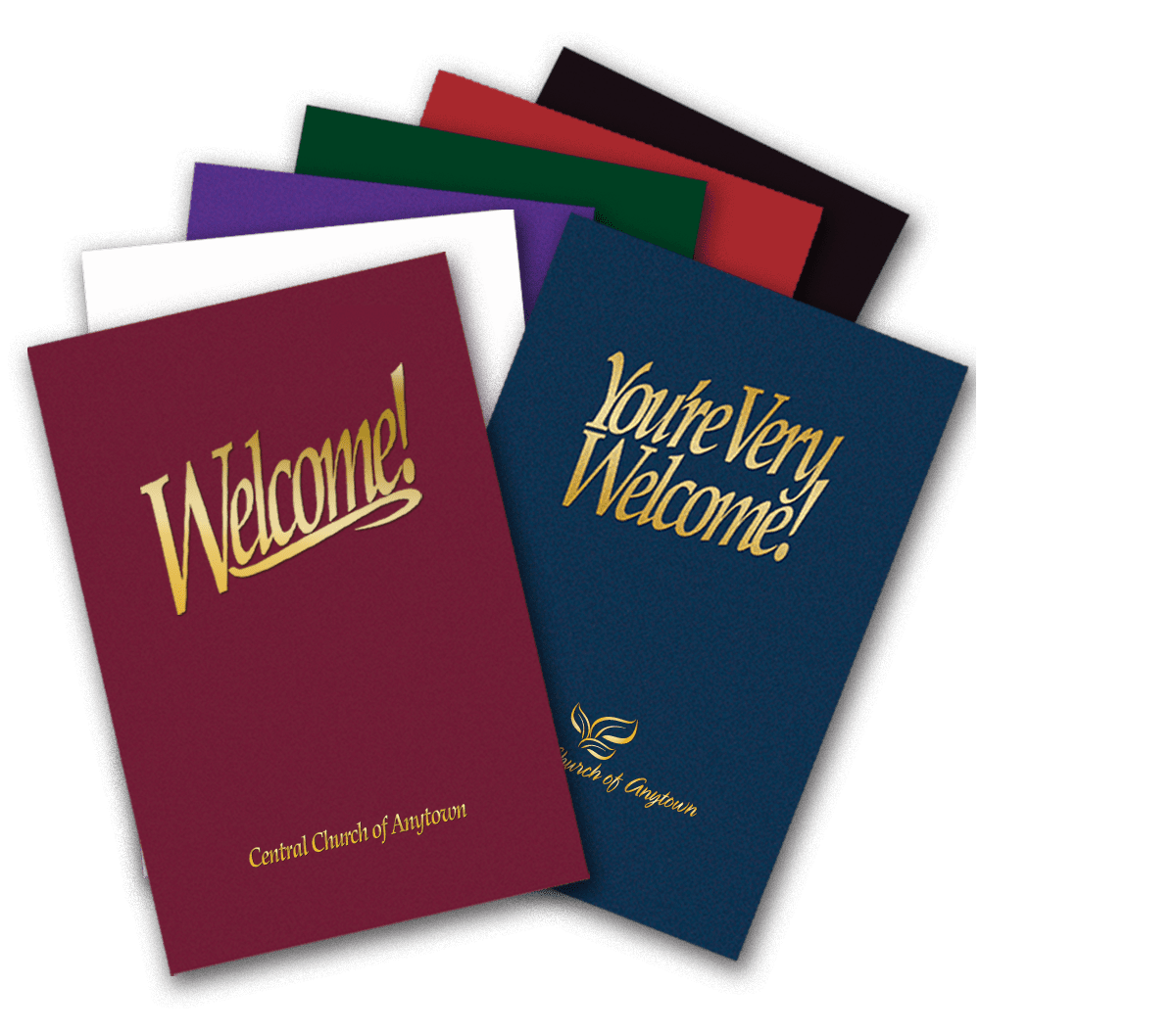 Church visitor welcome packets and folders outreach materials welcome folder packages altavistaventures Images