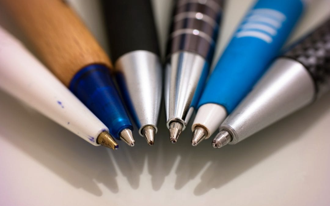 Custom Pens as an Outreach Tool